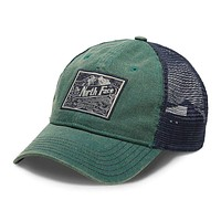 Broken In Trucker Hat in Jasper Green & Urban Navy by The North Face