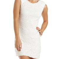 Sequined Sleeveless Bodycon Dress by Charlotte Russe