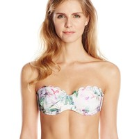 Ted Baker Women's Sulie Pure Peony Scalloped Bandeau Bikini Top