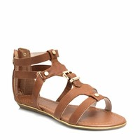 Touch Of Metallic Sandals
