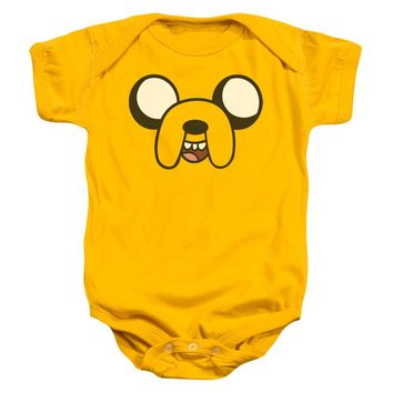 Adventure Time - Jake Head Infant Snapsuit Officially Licensed Baby Clothing