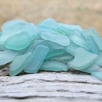 Bulk Sea Glass For Sale Light Blue Sea Glass Bulk  Beach Glass Wedding Glass