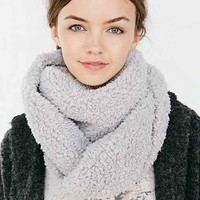 Teddy Bear Eternity Scarf-