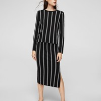 Stripe pattern sweater - Women | MANGO USA