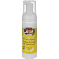 Earth Mama Angel Baby Shampoo and Body Wash - Organic Lavender - 5.3 oz
