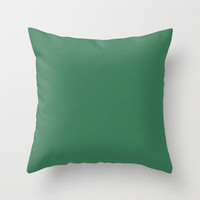 Amazon Pillow, #3B7A57, Solid Green Pillow, Green Pillow, Amazon Green Pillow, Modern Pillow, Minimalist Decor, Minimalist Pillow