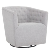 CAMBEUL SWIVEL ARMCHAIR MARBLE