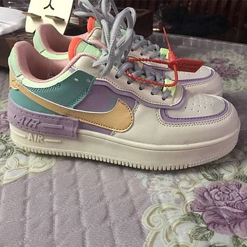 Nike Air Force 1 AF1 low-top casual sneakers shoes