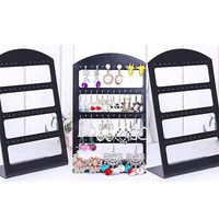 Fashion Jewelry Display Holder L Style Organizer Earrings Display Stand Tool HU