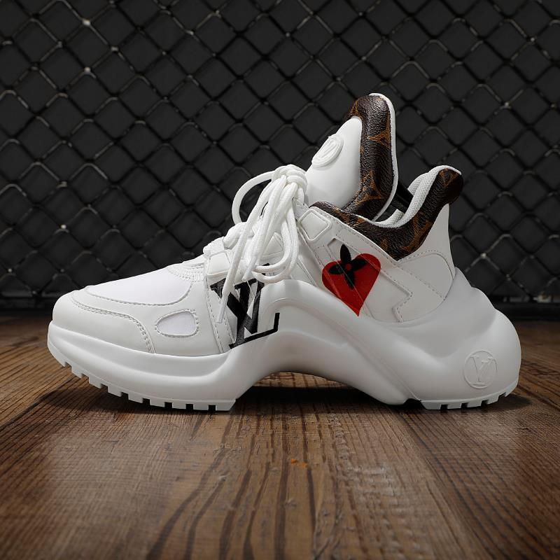 Image of lv louis vuitton womans mens 2020 new fashion casual shoes sneaker sport running shoes 233