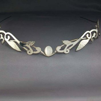 Lady of the Woods circlet headpiece tiara crown by ElnaraNiall
