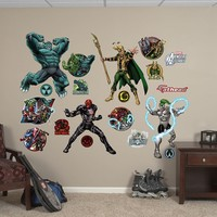 Avengers Assemble Villians Collection Wall Decal by Fathead