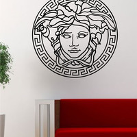 Versace Logo Medusa Decal Sticker Wall Vinyl Decor Art