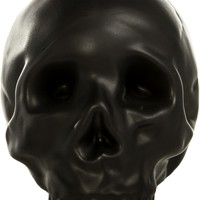 BLACK SKULL OF DEATH COIN BANK - Housewares