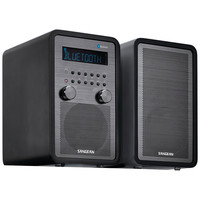 Sangean Am And Fm Bluetooth Tabletop Stereo System