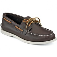 Men's Authentic Original Boat Shoe in Classic Brown by Sperry Top-Sider