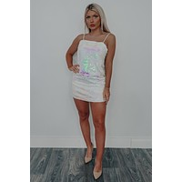 Light Up The Sky Dress: Iridescent
