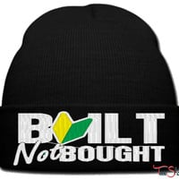 BUILT NOT BOUGHT_PXF beanie knit hat