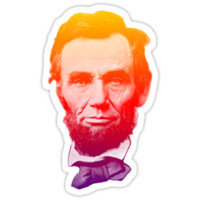 Big psychedelic Abe