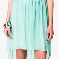 Georgette High-Low Skirt | FOREVER 21 - 2039435978