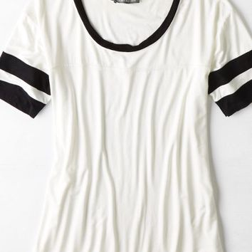 AEO Women's Don't Ask Why Football T-shirt