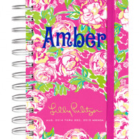 "Lilly Pulitzer Pocket Agenda "" Lilly Lovers"""