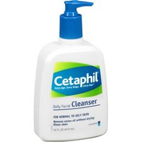 Cetaphil For Normal to Oily Skin Daily Facial Cleanser 16 Fl Oz - Walmart.com