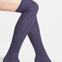 Women's Free People Speckled Over the Knee Socks