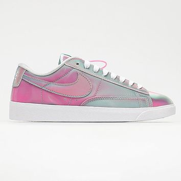 Nike Blazer Low Women's Colorful Pink Aurora Sneakers Shoes