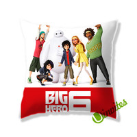 Big Hero 6 Square Pillow Cover