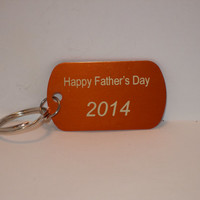 Father's Day key chain personalized