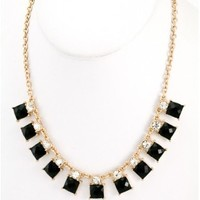 The Acrylic Square Luxure Necklace