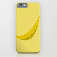 Banana iPhone & iPod Case by Brittcorry