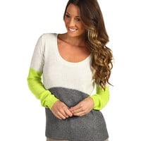 Free People Colorblock Pullover