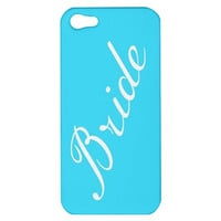 Bride Customizable iPhone Case Cover 5s, 5C, 4/4S Pink, Blue, Mint Green, White