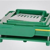Family Friends party Board game Capsule Filling Machine,100 Holes Capsule Filling Board With Tamping Tool Can Customize 0# only  AT_41_3