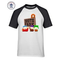 Hipster Basic Tops Funny sitcoms SOUTH PARK Funny Cotton T Shirt for men