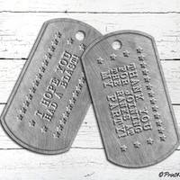 Printable Army Dogtags // Printable Authentic Metallic Army Dogtags Thank You Tags // Army bash // Army Birthday // Army Party // Military
