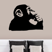 Banksy Thinking Monkey Wall Decals