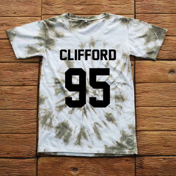 Michael Clifford 5 Seconds of Summer Tie dye Shirt Tye Dye Shirt Black Shirt