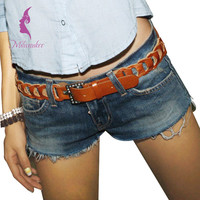 Milwaukee England Style Denim Women Hot Shorts Brand New Low Waist Ripped Five Star Pattern Destroyed Sexy Skinny Female Shorts