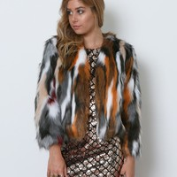 Ciao Faux Fur Coat