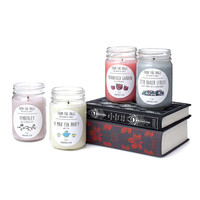 Literary Candles   scented candles