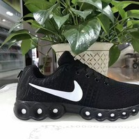 """""""Nike"""" Unisex Sport Casual Flyknit Sneakers Couple Running Shoes"""