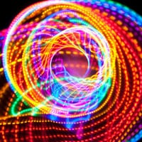 FREE SHIPPING  Strobing LED Hula Hoop  The by ElectricLifeStylz
