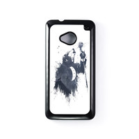 Wolf Song 3 Black Hard Plastic Case for HTC One M7 by Balazs Solti