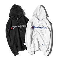 Champion Embroidered Hoodie Sweater S-XXL