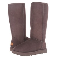 """UGG"" Women Fashion Wool Snow Boots simple high boots"