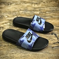 Nike Benassi Swoosh Sandals Style #15 Slippers - Best Online Sale