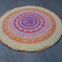 Boho Couch Spread, Bed Spread, Floor Spread, Blanket, Mandala, Tapestry,  Elephant Bed Couch Cover wall hanging